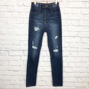 Aphrodite Jeans High Rise distressed jeans